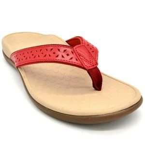 Vionic Womens Tideperf Leather FlipFlop Sandal NEW